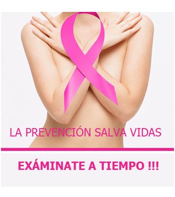 Prevención cáncer mamas